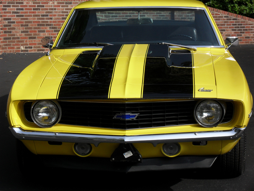 picture of Chevrolet Camaro, 1969, Z/28, yellow/black bumblebee