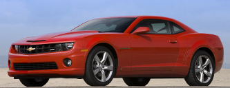 picture of Chevrolet Camaro, 2010, SS, red